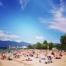 Kitsilano Beach Vancouver