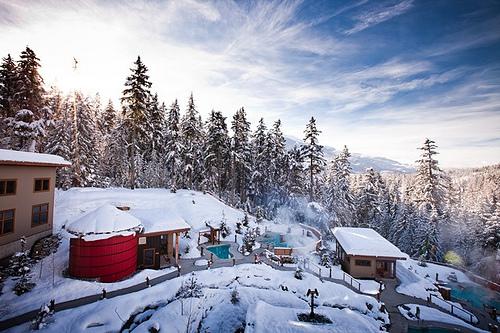 Scandinave Spa, Whistler